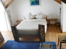 Attic bedroom, St Ives, Cornwall
