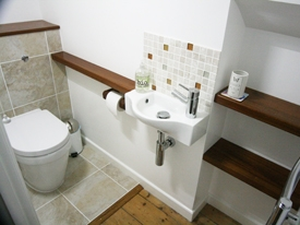 Contemporary bathroom, St Ives, Cornwall